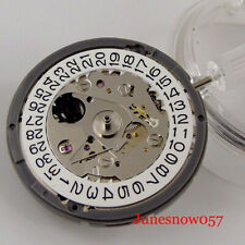 NH35 NH35A Automatic Mechanical Watch Movement High Accuracy White Date Display