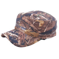 Camouflage Men's Baseball Hat Tactical Hunting Army Adjustable Snapback Cap Camo