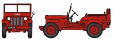 "REE CB-088 Jeep Pompier Bäche FUMAY ""Feuerwehr"" HO 1:87 NEU"