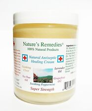 100% Natural Antiseptic Healing Cream for Eczema, Psoriasis, Itchy Skin or Scalp