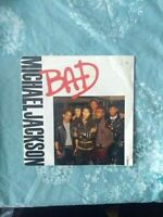 "Michael Jackson: Bad 7"" Vinyl Single"