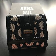 Anna Sui Black Wallet with Box
