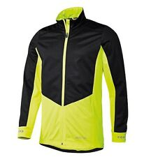 BNWT MEN S CYCLING BIKE WINDPROOF SOFTSHELL JACKET HIGH VISIBILITY SIZE L  42 44 421ab07a6