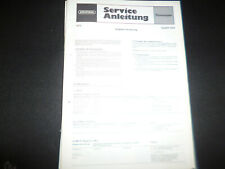 Original Service Manual Schaltplan Grundig Satellit 3000