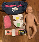 Realityworks Real Care Baby 3 Caucasian  Female W/ Accessories Tested A8