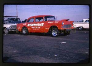 1965 Newhouse Speed & Custom Chevy Gasser - Vintage 35mm Drag Race Slide