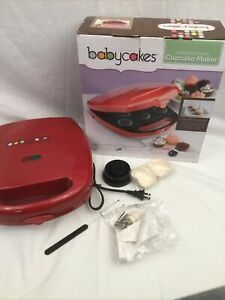 Babycakes Cupcake And Pie Maker CC-96RD Non Stick Red BRAND NEW - No Manual