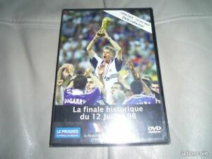 DVD FRANCE BRESIL FINALE COUPE DU MONDE 1998