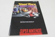 Stunt Race Fx  - Original Super Nintendo Manual