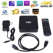 V88 RK3229 1G 8G Android 6.0 TV Box Quad Core HD 1080P WIFI USB HDMI Media 4K US