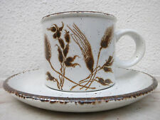 Wedgwood Midwinter Stonehenge WILD OATS Kaffeetasse Untertasse Coffee Cup Saucer