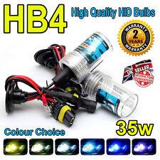 Hb4 12,000k HID LAMPADINE 35w Replacment AC Xenon base in metallo PER FARI UK venditore 12k
