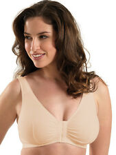 Leading Lady Cotton Front Close Bra Style 110 Size 36-52 NWT ALL COLORS