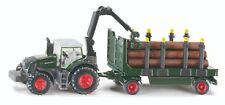 SIKU 1861, Traktor Fendt 939 mit Holzanhänger, 1:87, SIKU Farmer, Neu