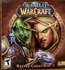 World of WarCraft Battle Chest Disc 2 PC Blizzard Entertainment 2007 Sealed NEW