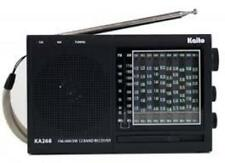 Kaito KA268 World Receiver AM/FM/10 Shortwave Bands!  Free Shipping in USA!