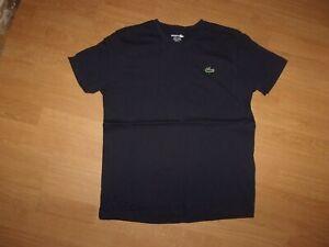 Lacoste Slim fit, Navy Blue mens T-shirt size 4 (Medium)