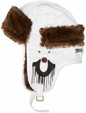 True Religion Winter Hat Faux Fur Cap NWT Trapper Hat White