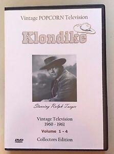 Klondike TV Show - All 16 Shows + Bonus Serial  Ralph Taeger James Coburn Sealed