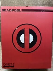 🔥DEADPOOL One:12 Collective Figure MEZCO TOYZ Classic Red Marvel BEST DEAL!🔥