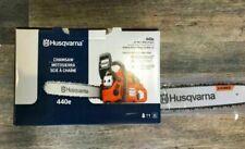 """Husqvarna 440e Gas Powered 40.9cc Chainsaw & 18"""""""" Bar & Chain -"""