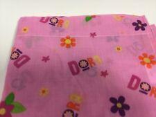 Dora Pink Youth Explorer Nickoldeon Bed Flat Sheet Bedding