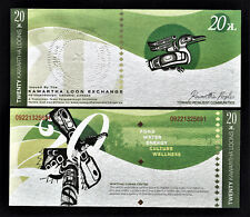 Canada Local Currency KAWARTHA LOON Exchange PETERBOROUGH 20 Kawartha Loons UNC