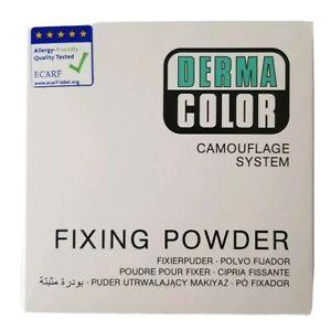 Derma Colour, Camouflage System Fixing  Translucent Powder, Light Beige - (60g)