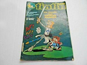 Tintin Hebdo nº 323 Original Rare Comics