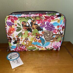 LeSportsac Extra Large Rectangular Cosmetic Bag, Hawaii Exclusive, SWEET WAHINE