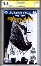 BATMAN ANNUAL #2 CGC 9.6 SS TOM KING & LEE WEEKS