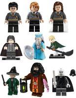 Harry Hagrid Hermione Ron Dumbledore Lego Compatible Blocks 9 Minifigures Potter
