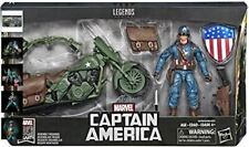 Marvel Legends Series Captain America with Motorcycle BNIB