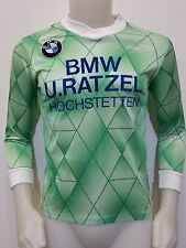MAGLIA SHIRT CALCIO BMW U.RATZEL HOCHSTETTEN TG.XS VINTAGE TRIKOT FOOTBALL S364