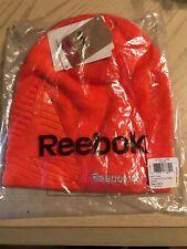 Brand New Reebok Beanie Knit Orange