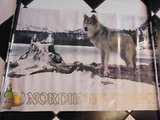 Vintage 1984 Nordik Wolf Light Poster