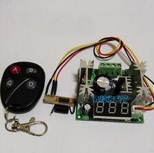 DC 5-72V 15A Digital Display PWM DC Motor Speed Controller 12v 24v  60v+ remote