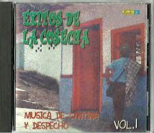 Exitos De La Cosecha Musica De Cantina Y Despecho Volume 1 Latin Music CD