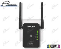 Ripetitore Range Extender WiFI Amplificatore Wireless con Antenne N300