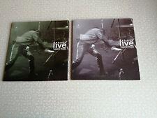 VASCO ROSSI - LIVE TRACKS - CD PROMO VODAFONE ROSSO + VERDE - NUOVI