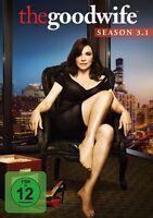 CHRISTINE BARANSKI JULIANNA MARGULIES - GOOD WIFE SEASON 3.1 MB 3 DVD NEU