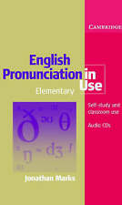 English Pronunciation in Use Elementary Audio CD Set (5 CDs) by Jonathan...