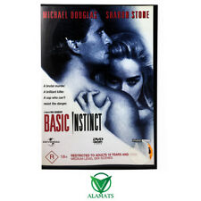 Basic Instinct (DVD) Very Good - Sharon Stone - Michael Douglas - Crime Thriller