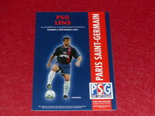 [COLLECTION SPORT FOOTBALL] PROGRAMME PSG / LENS 8 SEPTEMBRE 2001 Champ. France
