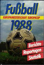 Fußball Europameisterschaft 1988 inkl. Qualifikation, Europacup 84/85 - 87/88