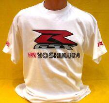 T-SHIRT  GSX-R Yoshimura MOTOR BIKE 100% COTON Motosport Adventure SUZUKI