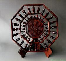India Rosewood mini miniature Trigrams Abacus 24 Column 168 Count beads #2616