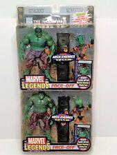 Toy Biz Marvel Legends Face-Off The Hulk vs The Leader