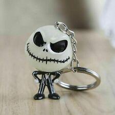The Nightmare Before Christmas Jack Key Ring Halloween Keychains Skellington 3D