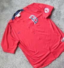 BOSTON RED SOX NIKE DRI-FIT MLB BASEBALL STITCHED JERSEY MEN XXL XX-LARGE